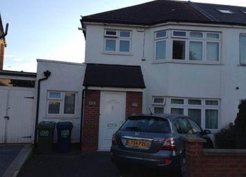 Thumbnail 1 bed flat to rent in Canterbury Road, North Harrow, Harrow