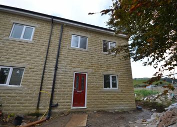 Thumbnail 5 bed semi-detached house for sale in Riverwood Close, Halifax