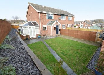 Thumbnail 3 bed town house for sale in Branstone Grove, Ossett, Wakefield, West Yorkshire