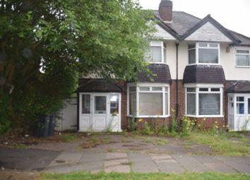 Thumbnail 3 bedroom semi-detached house for sale in Harborne Park Road, Harborne, Birmingham