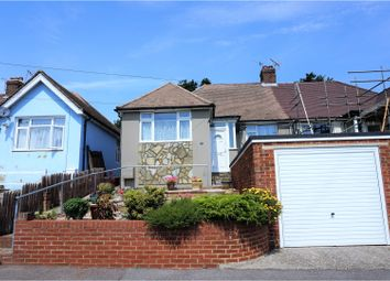 Thumbnail 2 bed semi-detached bungalow for sale in Firtree Road, Hastings