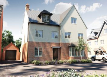 "Thumbnail 3 bedroom semi-detached house for sale in ""The Acton"" at Thatcham Road, Walton Cardiff, Tewkesbury"