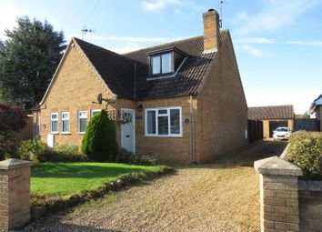 Thumbnail 2 bed semi-detached house for sale in School Road, Heacham, King's Lynn