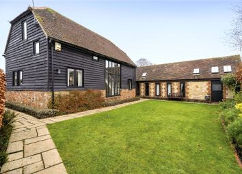 Thumbnail 4 bed barn conversion for sale in Church Lane, Bletchingley, Surrey