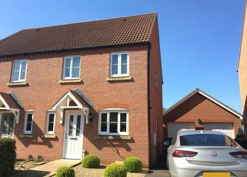 Thumbnail 3 bed semi-detached house for sale in Heacham, King's Lynn, Norfolk
