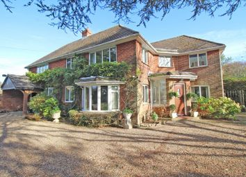 Thumbnail 4 bed detached house for sale in Downton Lane, Downton, Lymington