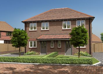 Thumbnail 2 bedroom semi-detached house for sale in Knights Park, Bletchingley Road, Godstone, Surrey