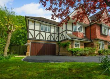Thumbnail 5 bed detached house for sale in Highfield Road, West Byfleet