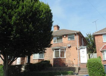 Thumbnail 3 bed semi-detached house to rent in Hawkes Yard Road, Erdington