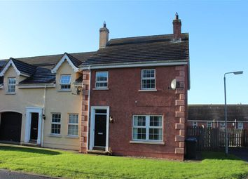 Thumbnail 3 bed end terrace house for sale in Carney Hall, Newry