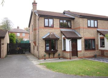 Thumbnail 3 bed end terrace house for sale in Westerhope Court, Darlington