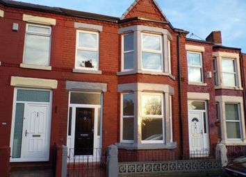 Thumbnail 3 bedroom terraced house for sale in Tynville Road, ., Liverpool, Merseyside