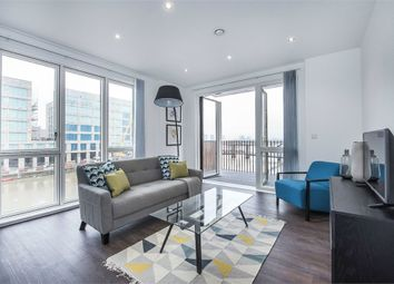 Thumbnail 2 bed flat to rent in Samuel Building, 48 Shackleton Way, London