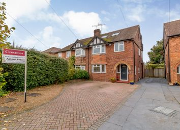 Thumbnail 4 bed semi-detached house for sale in Studland Road, Byfleet