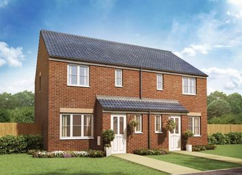 "Thumbnail 3 bed end terrace house for sale in ""The Hanbury "" at New Village Way, Morley, Leeds"