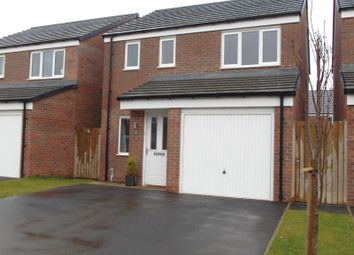Thumbnail 3 bed detached house to rent in Alnwick Way, Amble, Morpeth