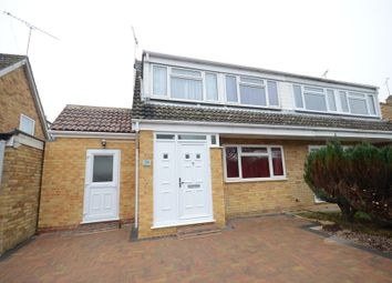 Thumbnail 3 bed semi-detached house to rent in Launcestone Close, Earley, Reading