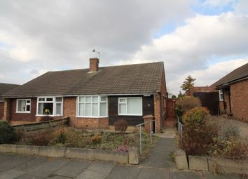 Thumbnail 2 bed bungalow for sale in Swinhoe Gardens, Wideopen, Newcastle Upon Tyne
