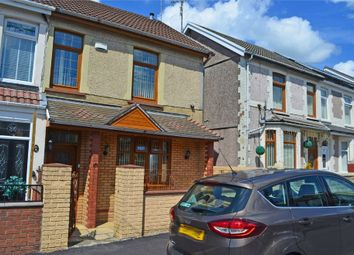 Thumbnail 4 bed semi-detached house for sale in The Avenue, Tonyrefail, Porth, Mid Glamorgan