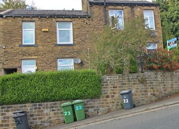 Thumbnail 2 bed terraced house for sale in Cowcliffe Hill Road, Fixby, Huddersfield