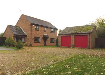 Thumbnail 4 bedroom detached house for sale in Churchfield Way, Wisbech St. Mary, Wisbech