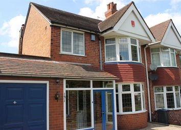Thumbnail 3 bed semi-detached house to rent in Sandwell Road, Handsworth Wood, Birmingham