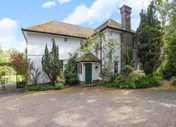 Thumbnail 4 bed detached house to rent in Philpot Lane, Chobham
