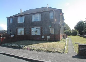 Thumbnail 2 bed flat to rent in Glebe Crescent, Ayr
