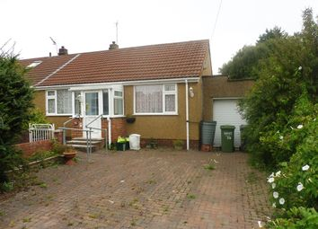 Thumbnail 2 bed semi-detached bungalow for sale in Vicarage Road, Hanham, Bristol