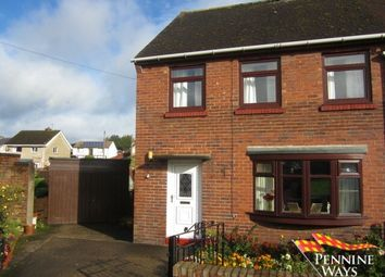 Thumbnail 3 bed semi-detached house for sale in Westlands, Haltwhistle, Northumberland