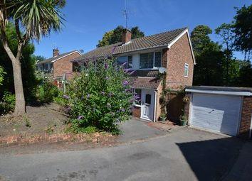 Thumbnail 3 bed semi-detached house for sale in Park Hill, Church Crookham, Fleet