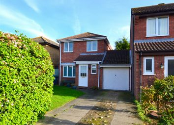 Thumbnail 3 bed link-detached house for sale in Flint Way, Eynesbury, St. Neots, Cambridgeshire
