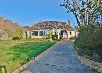 Thumbnail 3 bedroom detached bungalow for sale in Solent Road, Hill Head, Fareham