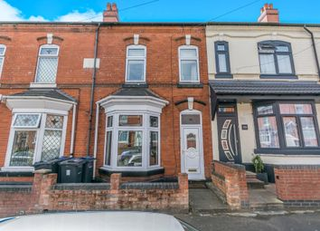 Thumbnail 3 bed terraced house for sale in Clarence Road, Sparkhill, Birmingham