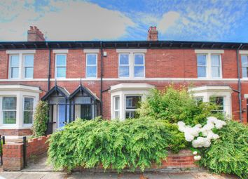 Thumbnail 5 bed terraced house for sale in Bath Terrace, Gosforth, Newcastle Upon Tyne