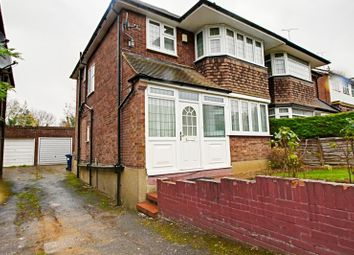 Thumbnail 3 bed semi-detached house to rent in Laurel View, Woodside Park, Finchley, London