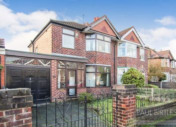 Thumbnail 3 bed semi-detached house for sale in Wimborne Avenue, Davyhulme, Trafford