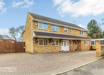 Thumbnail 5 bed detached house for sale in Home Close, Great Oakley, Corby, Northamptonshire