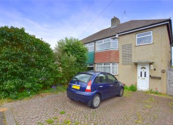 Thumbnail 3 bed semi-detached house for sale in Bushby Close, Lancing, West Sussex