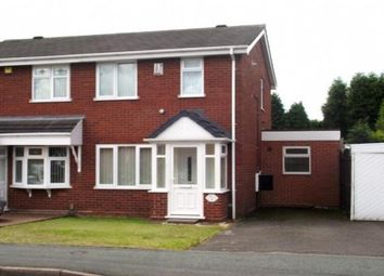 Thumbnail 3 bedroom property to rent in Hawkswell Drive, Willenhall