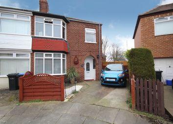 Thumbnail 4 bed semi-detached house for sale in Ravenscroft Avenue, Linthorpe, Middlesbrough