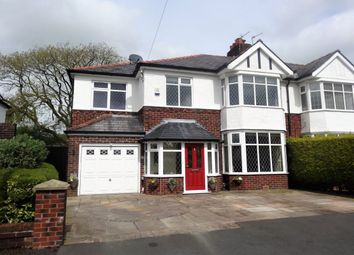 Thumbnail 3 bed semi-detached house for sale in Royal Avenue, Fulwood, Preston