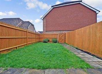 Thumbnail 3 bed terraced house for sale in Linnitt Road, Holborough Lakes, Snodland, Kent