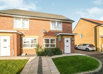 Thumbnail 2 bed semi-detached house for sale in Addison View, Blaydon-On-Tyne