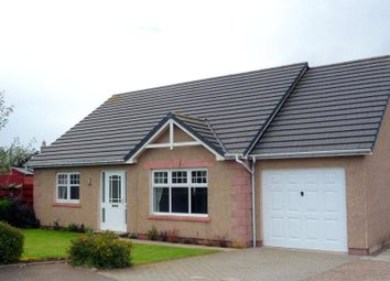Thumbnail 3 bed detached bungalow to rent in 70 Kirkburn, Laurencekirk