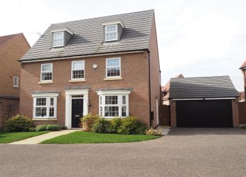 Thumbnail 5 bed detached house for sale in Marron Court, Fernwood, Newark