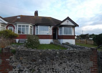 Thumbnail 3 bed semi-detached bungalow to rent in Nethercourt Hill, Ramsgate