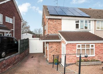 Thumbnail 3 bed semi-detached house for sale in Tower View Crescent, Nuneaton