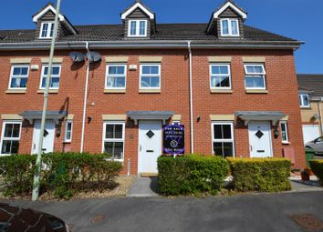 Thumbnail 3 bed town house for sale in Bryn Dewi Sant, Miskin, Pontyclun