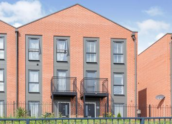 Thumbnail 4 bedroom town house for sale in Langton Way, Abbey Meadows, Leicester